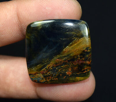 43.25 Cts. 100 % Natural Chatoyant Pietersite Cushion Cabochon Loose Gemstones