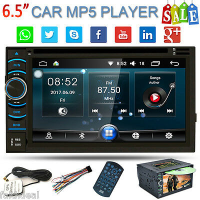 """6.5"""" Autoradios 2DIN Android Coche DVD Estéreo FM Reproductor Bluetooth GPS WIFI"""