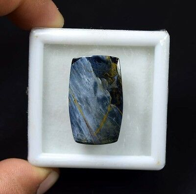 23.60 Cts. 100 % Natural Chatoyant Pietersite Cushion Cabochon Loose Gemstones
