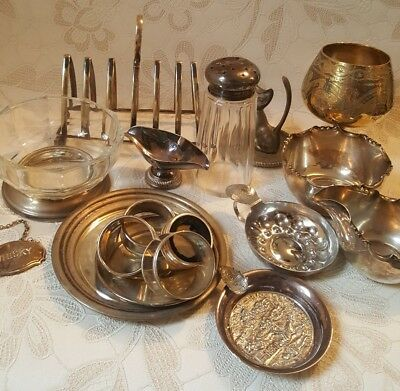 Large bulk lot of Silver plate items to include, jugs, plates bowls etc. EPNS