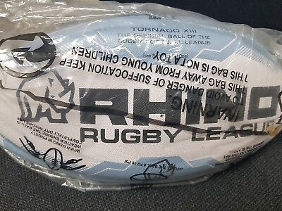offical leeds rhino rugby ball