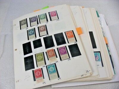 ISRAEL, Excellent Accumulation of Mint(many NH) Stamps mounted on remainder page
