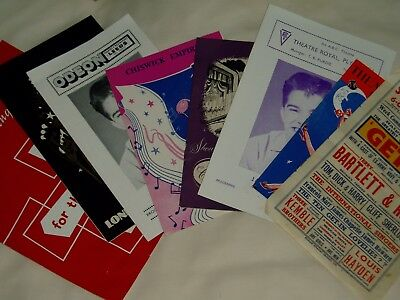 old vintage Theatre Programmes...x  8....1950s Variety mainly....good stars