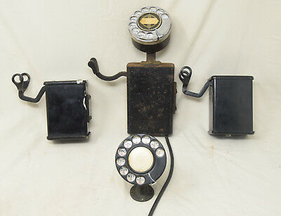Lot of Vintage Space Saver Telephone Parts