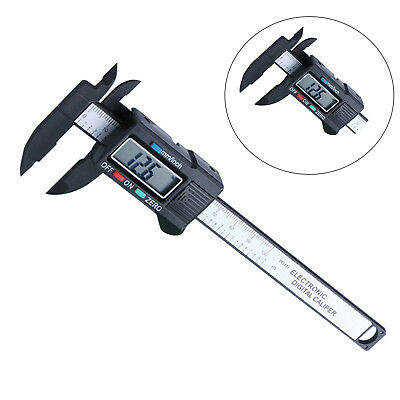 "6"" Digital Caliper Stainless Steel Electronic Vernier Gauge Micrometer 0.01mm US"