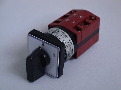 Cam Switch 10A 4 Pole ON/OFF 60 degree switching