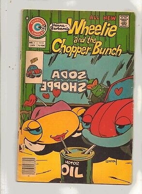 WHEELIE AND THE  CHOPPER BUNCH No 4