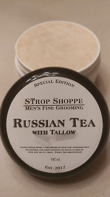 Unobtanium - Strop Shoppe Russian Tea SE w/ Tallow shave soap