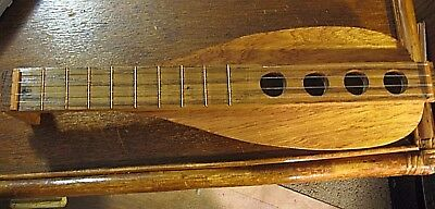 Vintage Handcrafted Carved Mandolin Signed  Estate Sale Must See