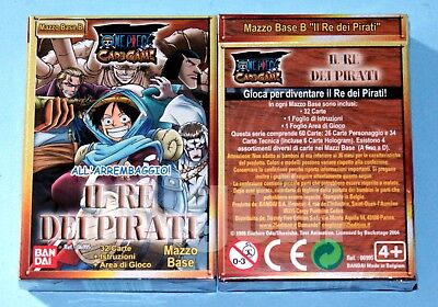 ONE PIECE CARD GAME Mazzo Base (Variante B) IL RE DEI PIRATI NUOVO SIGILLATO