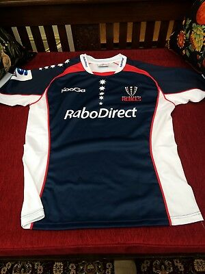 ** KooGa ** Melbourne Rebels Rugby Players Jersey, Size XL