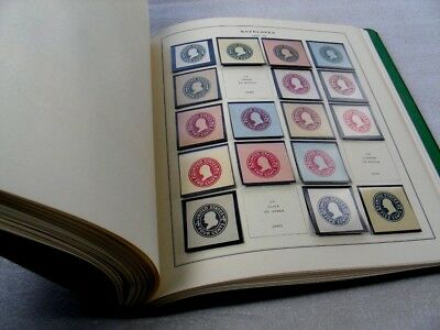 US, Cut Squares & other BOB, Excellent Stamp Collection mounted in a Scott album