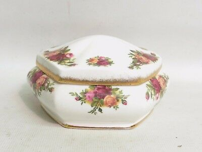 Royal Albert Old Country Roses Dressing Table Pot And Cover