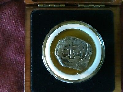 Wreck of the Vliegenthart (Flying Heart) Very Rare Silver Coin