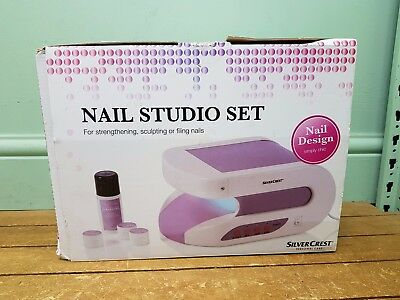 Silvercrest Nail Studio Set Starter Kit