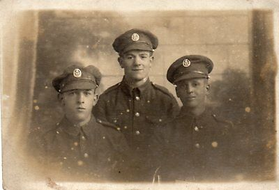 Three Soldiers Of The York & Lancaster Regiment - Sunderland & Hartlepool Photo