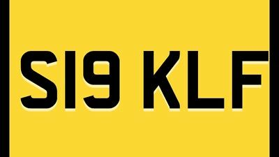 Private Cherished Number Plate S19 KLF