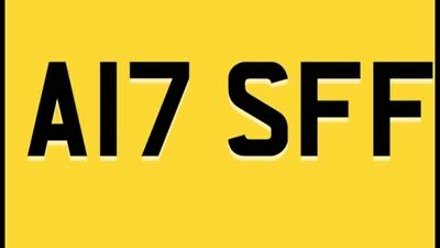 Private Cherished Number Plate A17 SFF