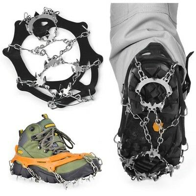 Hot Crampons Outdoor Snow Boot Anti-slip Gripper Portable Hiking Climbing Cleats