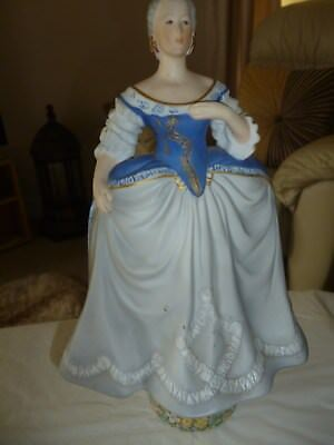 Catherine the Great fine porcelain hand painted figurine.