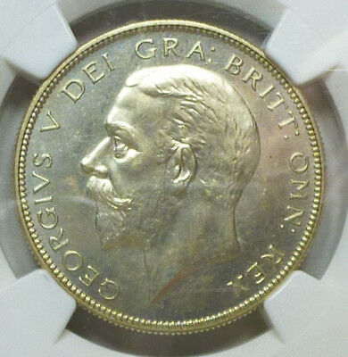 Great Britain Proof Half Crown 1927 PR 64 NGC