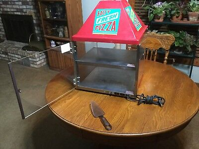 Commercial Countertop Food Warmer Pizza Display Case