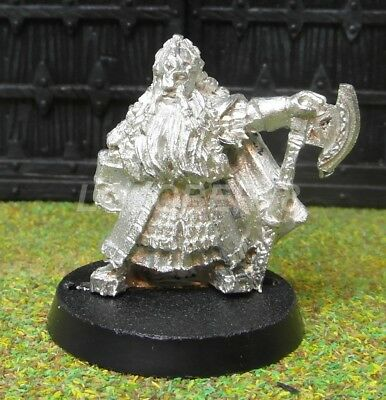 DAIN DWARF LORD - Lord Of The Rings Metal Figure(s)