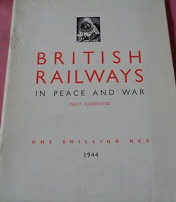 WW2 British Railways In Peace and War GWR LMS LNER SR London Transport 1944