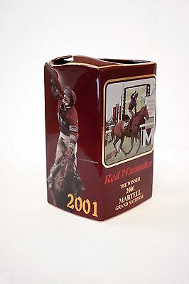 Rare Grand National Sample Whisky Jug Red Marauder 2001 Limited To 12. Mint