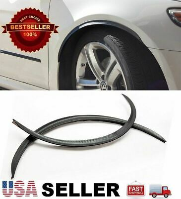 """2 x 29"""" Long Arch Wide Fender Flare Extension Carbon Protector Lip For Dodge"""