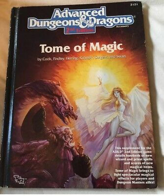 AD&D 2nd Edition Tome of Magic