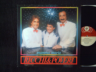 "Ricchi & Poveri ""Mamma Maria"" Rare Album German Press"