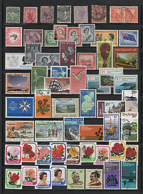 New Zealand, used Stamp Collection, Mixed