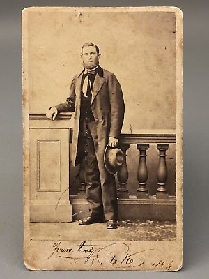 Sea Captain - Liverpool, England - Confederate Blockade Runner? - Civil War CDV