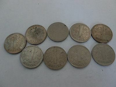 Very Nice Rare.finland.9X.one Markka.very Collectable.lot.22