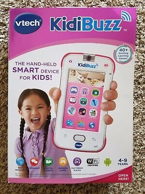 Vtech Kidibuzz Handheld Smart device NEW Sealed