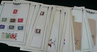 US Postal Stationary Collection 1876/1977 Entires Cut Squares FDCs NO RESERVE!!