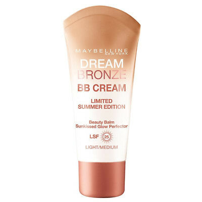 Maybelline Dream Bronze BB Cream Light-Medium SPF 25 30ml Limited Summer Edition