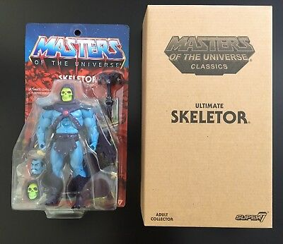 "SKELETOR ""ULTIMATE"" Masters of the Universe MOTUC Classics MOC NEU! NEW!"