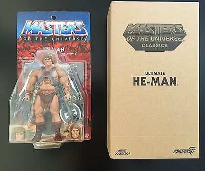 "HE-MAN ""ULTIMATE"" Masters of the Universe MOTUC Classics MOC NEU! NEW!"