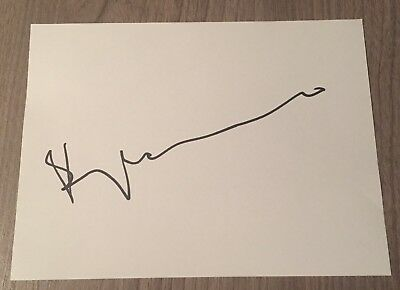 Benny Andersson - ABBA Hand Signed Autograph Index White Card Music - Proof COA