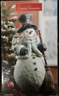 "NEW Decorative 23"" Frosted Snowman -#867758"