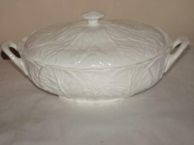 Coalport Wedgwood Bone China Countryware Covered Vegetable Cabbage Dish