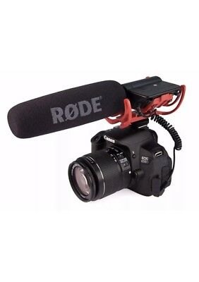 Rode VideoMic Condenser Microphone - Studio Quality for DSLR Cameras - AA+
