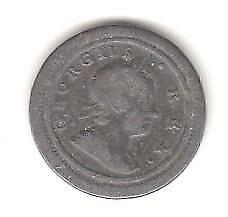 George 1 farthing (dump issue) 1721