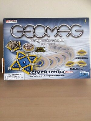GEOMAG MAGNETIC WORLD - DYNAMIC CLASSIC TOP SPINNERS - NEW in unopened box