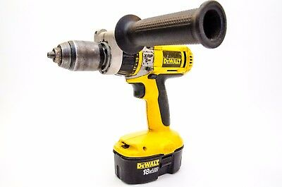 DEWALT DW988 18v XRP Drill Driver with Hammer Action and 2x 2.0ah Batteries