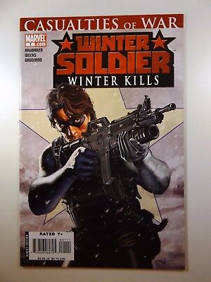 "The Winter Soldier #1 ""Winter Kills!"" Sharp VF-NM Condition!!"