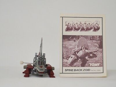 zoids - OER - Spine Back - TOMY figure with instructions.