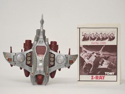 zoids - OER - Z-Ray - TOMY figure with instructions.